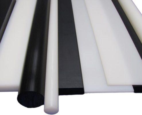 HDPE polyethyleen plaat en staf