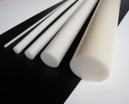 PA6 nylon naturel rondstaf