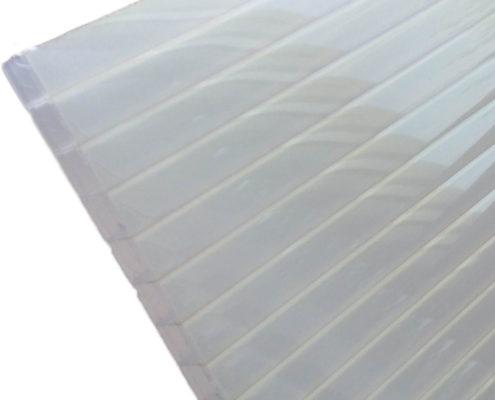 Polycarbonaat kanaalplaat transparant IR gold uv-werend groot
